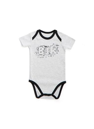 Beşiktaş Beşiktaş Lisanslı Bebek 3'Lü Body Set Beyaz